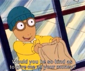 money, funny, and arthur image