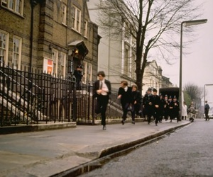 a hard days night, beatles, and george harrison image