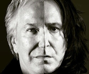 harry potter, alan rickman, and severus snape image