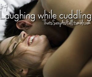 laughter and cuddlimg image
