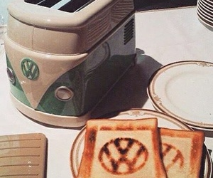 toaster, volkswagen, and toast image