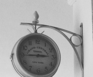 clock, vintage, and grandcentral image