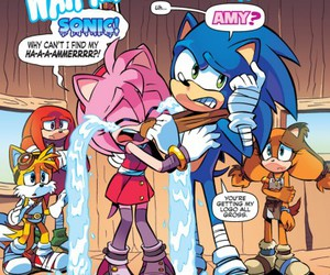 sonic boom, Sonic the hedgehog, and tails image