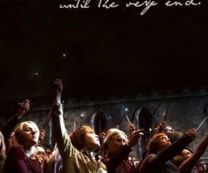harry potter, hogwarts, and until the very end image