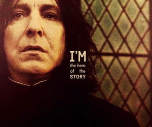 harry potter, hero, and severus snape image