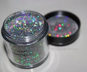 glitter, mac, and makeup image