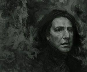 alan rickman, harry potter, and R.I.P. image