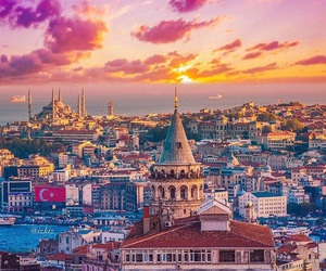 architecture, sky, and istanbul image