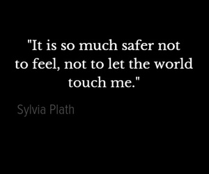 alone, quotes, and sylvia plath image