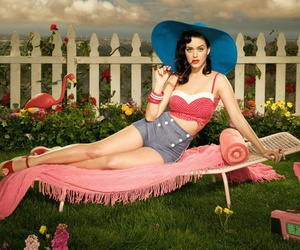 katy perry, style, and Pin Up image