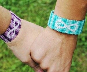 bracelets, diy, and friend bracelet image