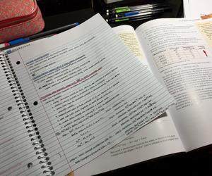 book, calendar, and motivation image