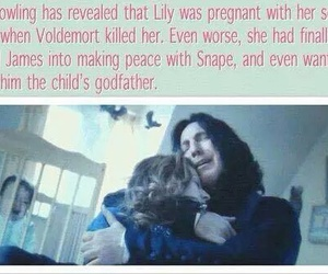 harry potter, snape, and lily image