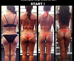 ass, motivation, and glutes image