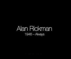 always, alan rickman, and rip image