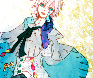 allen, d gray man, and anime image