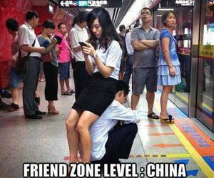 china, meme, and friend zone image