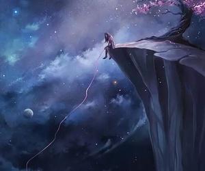 art, anime, and sky image