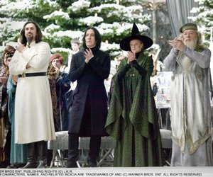 harry potter, dumbledore, and severus snape image
