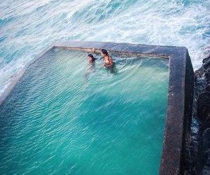 summer, sea, and pool image