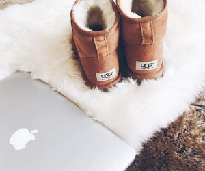 apple, ugg, and winter image