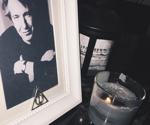 alan rickman, harrypotter, and black image