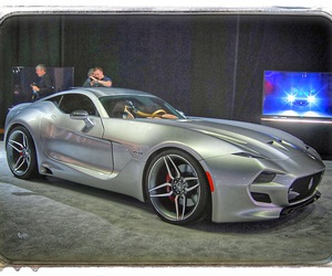 car, fisker, and force one image