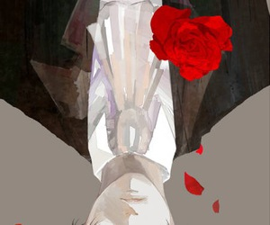 attack on titan, levi, and rose image