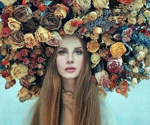 lana del rey, flowers, and ️lana del rey image