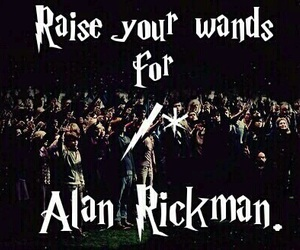 alan rickman, harry potter, and severus snape image