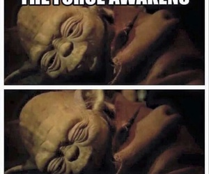 funny, yoda, and starwars image
