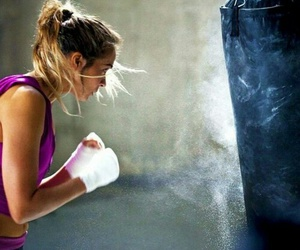 boxing, fight, and fitness image