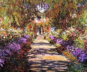 art, flowers, and garden image