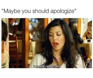 funny and apologize image