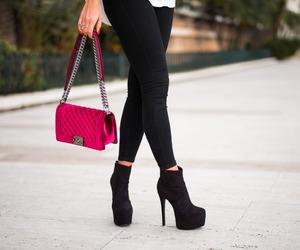 fashion, chanel, and high heels image