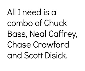 chase crawford, chuck bass, and lord image