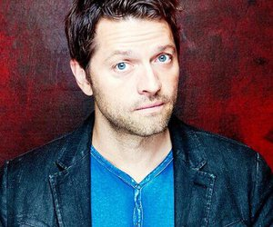 misha collins, supernatural, and castiel image