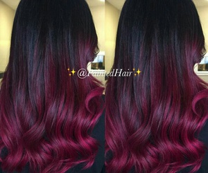 beautiful hair, hair styles, and ombre hair image