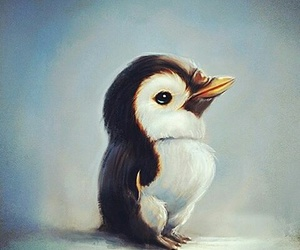 art, penguin, and cute image