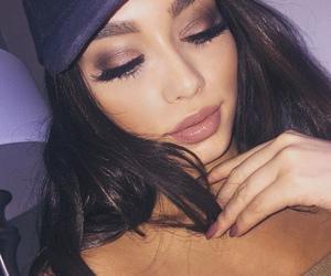 beautiful, eyeshadow, and glam image