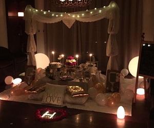 birthday party, happy birthday, and romantic image