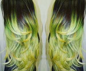 colored, dyed, and hair image