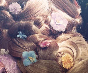 disney, rapunzel, and face character image
