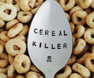 breakfast, cereal, and funny image