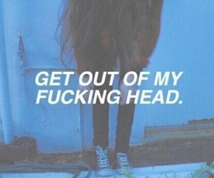 grunge, quotes, and head image