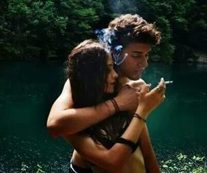 abrazo, hug, and lago image
