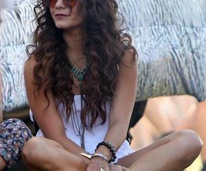vanessa hudgens, coachella, and hippie image
