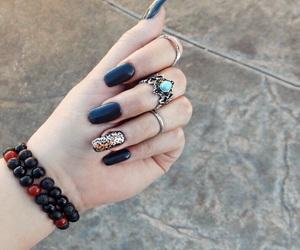 black, bracelet, and brilliant image