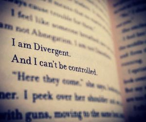 divergent, book, and tris image