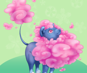 lion, pet, and pink image
